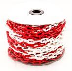 - Цепь пластиковая красно-белая 8мм